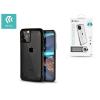 Devia Apple iPhone 11 Pro Max ütésálló hátlap - Devia Defender 2 Series Case - black