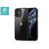 Devia Apple iPhone 12 Mini ütésálló hátlap - Devia Shark Series Shockproof Case - black/transparent