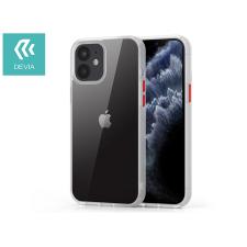 Devia Apple iPhone 12 Mini ütésálló hátlap - Devia Shark Series Shockproof Case - clear/transparent tok és táska