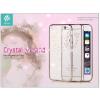 Devia Apple iPhone 6/6S hátlap Swarovski kristály díszitéssel - Devia Crystal Garland - champagne gold