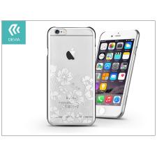Devia Apple iPhone 6 Plus /6S Plus hátlap Swarovski kristály díszitéssel - Devia Crystal Rococo - silver tok és táska