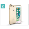 Devia Apple iPhone 7 Plus/iPhone 8 Plus szilikon hátlap - Devia Glitter Soft - champagne gold