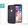 Devia Apple iPhone X hátlap - Devia Mirror - black