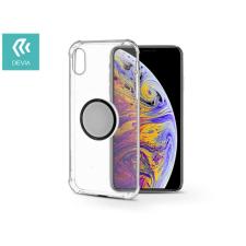 Devia Apple iPhone X/XS hátlap - Devia Grip - transparent tok és táska