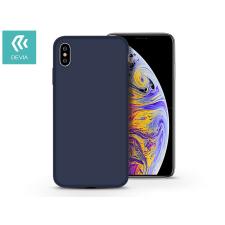 Devia Apple iPhone X/XS hátlap - Devia Nature - kék tok és táska
