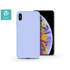 Devia Apple iPhone X/XS hátlap - Devia Nature - világos kék tok és táska