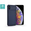 Devia Apple iPhone XS Max szilikon hátlap - Devia Shark-1 - blue