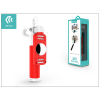 Devia Devia 360 Rotation Selfie Holder szelfi bot exponáló gombbal, 3,5 mm jack csatlakozóval - red