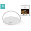 Devia Devia Qi univerzális vezeték nélküli töltő állomás/LED lámpa - 5V/1A - Devia Moon Series Wireless Charger With Lamp - Qi szabványos