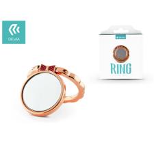 Devia Devia ring holder/szelfi gyűrű és kitámasztó - Devia Finger Hold Butterfly - rose gold mobiltelefon kellék