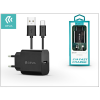 Devia Devia Smart USB hálózati töltő adapter + USB Type-C kábel 1 m-es vezetékkel - Devia Smart USB Fast Charge for Type-C 2.0 - 5V/2,1A - black
