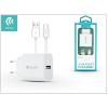 Devia Devia Smart USB hálózati töltő adapter + USB Type-C kábel 1 m-es vezetékkel - Devia Smart USB Fast Charge for Type-C 2.0 - 5V/2,1A - white