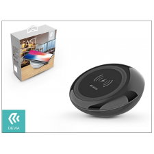 Devia Qi univerzális vezeték nélküli töltő állomás - 5V/2A - Devia Fast Wireless Charger - black - Qi szabványos tok és táska