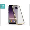 Devia Samsung G955F Galaxy S8 Plus hátlap - Devia Glimmer - champagne gold