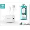 Devia ST300387 SMART CHARGER 2.1A MFi Apple engedélyes hálózati töltő + Lightning kábel