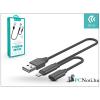 Devia ST308109 JET AUDIO fekete Lightning töltő- és adatkábel + adapter