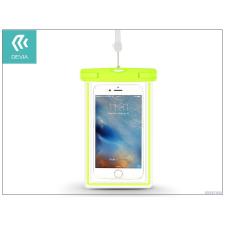 Devia Univerzális vízálló védőtok max. 5,5&quot, méretű készülékekhez - Devia Ranger Fluorescence Waterproof Bag - green tok és táska