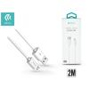 Devia USB - micro USB adat- és töltőkábel 2 m-es vezetékkel - Devia Smart Cable - white