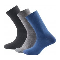 Devold Daily Light Sock 3pk zokni Indigo mix 41-46
