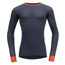 Devold Wool Mesh Man Shirt XL / szürke/narancssárga férfi póló