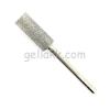 Diamond Nails Gyémánt henger acél csiszolófej D-1 ezüst