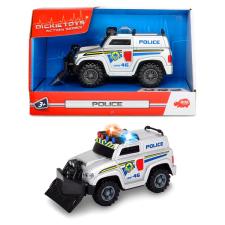 Dickie Dickie: Action Series: mini rendőrautó, 15 cm autópálya és játékautó