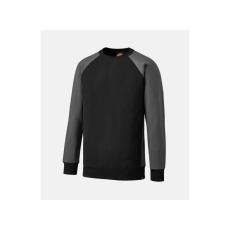DICKIES SH3008 fekete/szürke pulóver XL