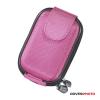 DigiETUI Top T1 digitális fényképezőgép tok, cordura, rózsaszín