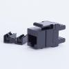 Digitalbox START.LAN Keystone Jack UTP cat. 6 (1xRJ-45) 8P8C 180° black STLKJUC6180BK