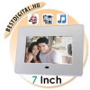 """Digitális képkeret 7"""" fotókeret"""
