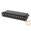 Digitus 10'' CAT6 12-portos FTP patch panel