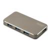 Digitus Hub 4-port USB 3.0 SuperSpeed, Power Supply, HQ aluminum