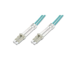 Digitus LC / LC OM3 3m üvegszálas optikai patch kábel