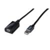 Digitus USB 2.0 repeater kábel  25m