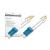 Digitus üvegszálas optikai patch kábel ; duplex SM 9/125 OS2 LC / LC 10m