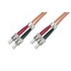 Digitus üvegszálas optikai patch kábel ; ST-ST 3m
