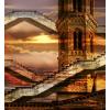Dimex ETHEREAL TOWER fotótapéta, poszter, vlies alapanyag, 225x250 cm