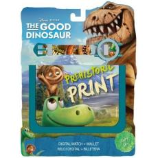 Disney Dínó Tesó Digitális karóra + pénztárca Disney The Good Dinosaur, Dínó Tesó