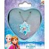 Disney Frozen, Jégvarázs nyaklánc + medál szett fém dobozban