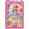 Disney hercegnők: Palota kedvencek 2 x 20 darabos puzzle