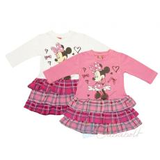 Disney Minnie baba/gyerek hosszú ujjú ruha (méret:74-122)