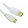 DisplayPort - HDMI kábel, MM, 1m, SANDBERG