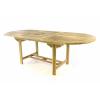 Divero Kerti nyújtható asztal DIVERO - tíkfából 170/230 cm