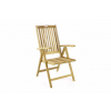 Divero Összecsukható kerti fa szék DIVERO