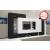 Divian Komfort szekrénysor LED világítással