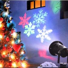 DIY beltéri és kültéri lézer karácsonyi kivetítő karácsonyi dekoráció