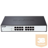 DLINK D-Link Switch 16x1000Mbps fanless Smart