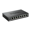 DLINK D-Link Switch 8x100Mbps fémházas Desktop