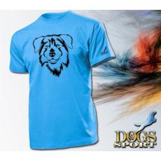 Dogs & Sport Ausztrál juhász férfi póló (férfi rövid ujjú póló )