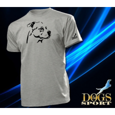 Dogs & Sport Staffordshire terrier férfi póló (Am staff férfi rövid ujjú póló )